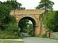 Railway bridge at Thurston, Suffolk - geograph.org.uk - 220796.jpg