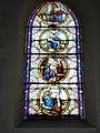 Raimbeaucourt (Nord, Fr) église, vitrail 04.JPG