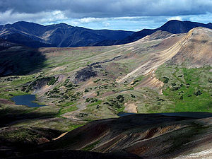 Rainbow Range (Chilcotin Plateau) - Image: Rainbow Range Slopes