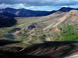 Rainbow Range (Chilcotin Plateau) - Image: Rainbow Range Slopes