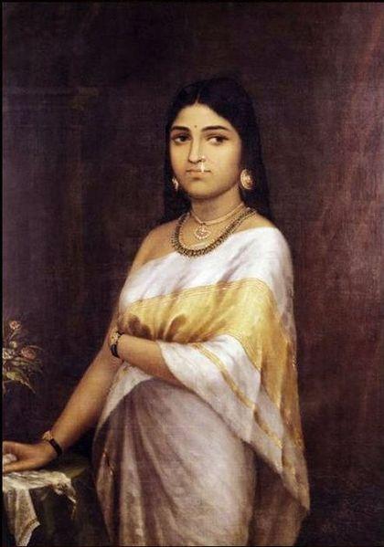 File:Raja Ravi Varma, Malayalee Lady.jpg