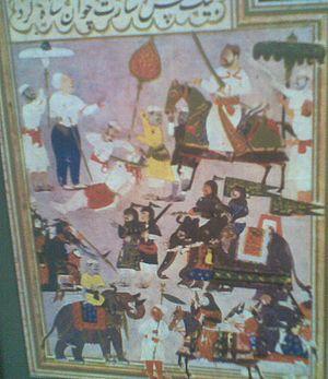 Aliya Rama Raya - Rama Raya's beheading at Talikota