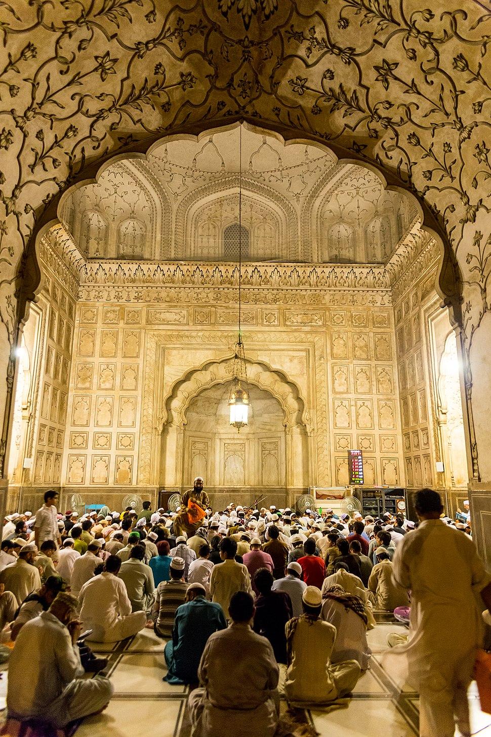 Ramadan Night at Badshahi Mosque