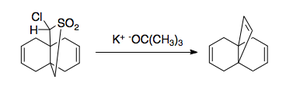 Scheme 3. Small-ring application of the Ramberg–Bäcklund reaction