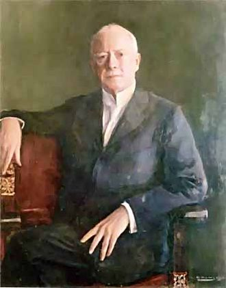 Charles Deering - Ramon Casas i Carbó portrait of Charles Deering, c. 1914. Maricel Museum Sitges, Barcelona