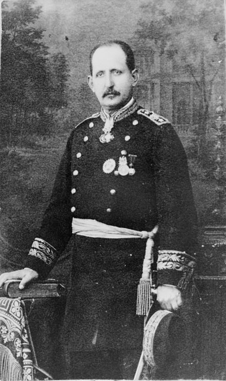 General Ramon Corona, c. 1888, under whom Cajeme began his military service Ramon Corona.jpg