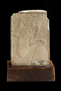 Sidelock of youth hairstyle for boys in Ancient Egypt