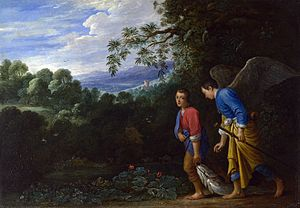 Archangel Raphael and Tobias