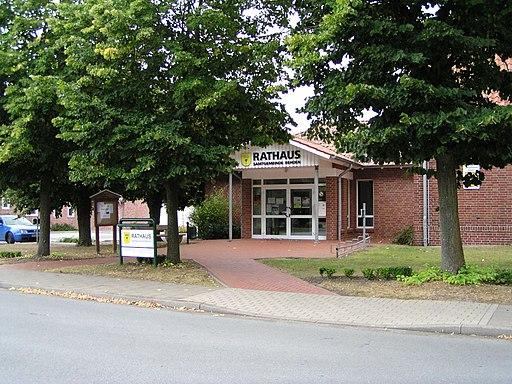 Rathaus der Samtgemeinde Rehden am 29 08 2009