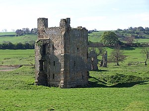 Ravensworth Castle (North Yorkshire) - Image: Ravensworth Castle geograph.org.uk 2380905