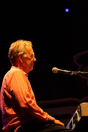 Ray Manzarek - Manzarek at the Bospop festival, Weert 2010, the Netherlands