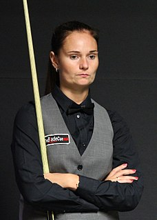 Reanne Evans English snooker player