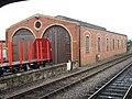 Rebuilt Engine shed - geograph.org.uk - 551826.jpg