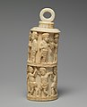 Receptacle with Figurative Relief and Stopper MET DP236943.jpg