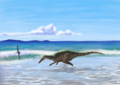 Reconstruction of Joan Wiffen's Theropod.png