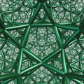 Rectified order 4 dodecahedral honeycomb.png
