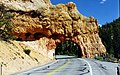 Red Arch road tunnel Rt 12 on the way to Bryce Canyon - panoramio.jpg