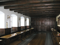 Refectory of Francican cloister in Zakroczym, plae of last Polish Sejm during November Uprising.PNG