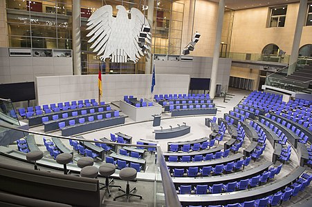 Hall of the German Parliament
