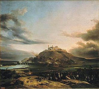 Siege of Lérida - A view of Lérida