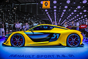 Renault Sport R.S. 01 - Renault Sport R.S. 01 (one-make version) at the 2014 Paris Motor Show