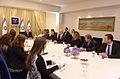 Reuven Rivlin opened the consultations after the 2015 elections with the HaMaḥane HaẒioni (1).jpg