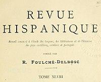 Revue hispanique, 1920.jpg