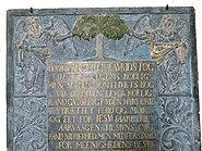 Ribe St.Katharina - Epitaph 3 Palme