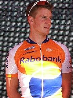 Rick Flens Road bicycle racer