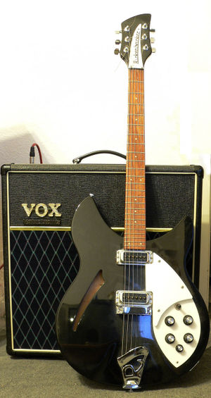 Semi-acoustic guitar - Image: Rickenbacker 330JG