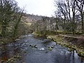 River Skirfare east side of Arncliffe Bridge - geograph.org.uk - 1768609.jpg