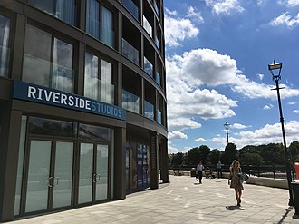 Riverside Studios - The new Riverside Studios front entrance 2018