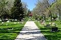 Road in Mount Pisgah Cemetery in Gillette, Wyoming.jpg