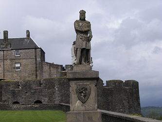 Robert the Bruce at Stirling.jpg