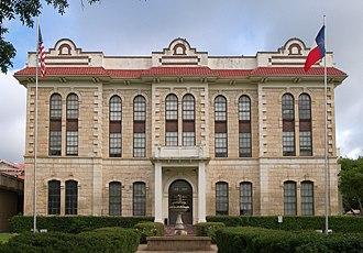 Robertson County, Texas - Image: Robertson courthouse tx 2010