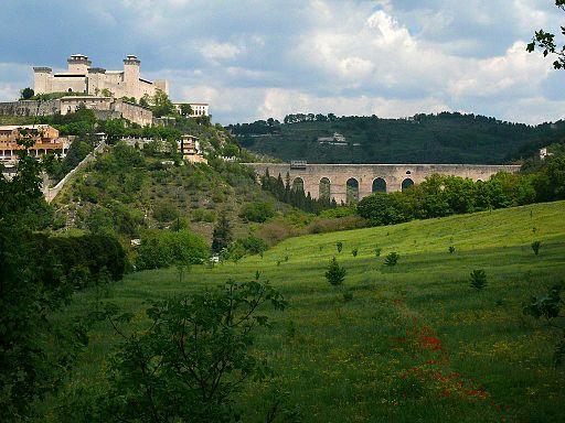 Rocca Albornoz and Ponte delle Torri, Spoleto