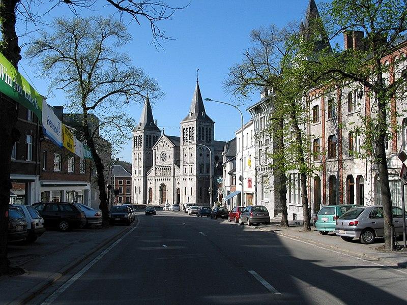 Rochefort (Belgium),  the Holy Virgin Visitation church (1871-1873).