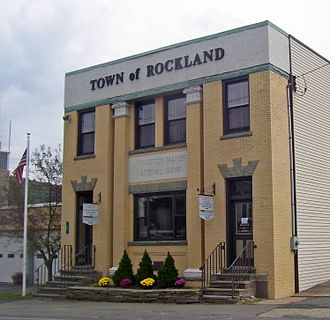 Rockland, New York - Town Hall, in Livingston Manor