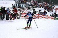 Rogla cross country skiing world cup 2009.jpg