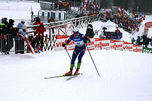 Rogla cross country skiing world cup 2009.jpg