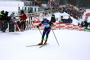 Rogla - Image: Rogla cross country skiing world cup 2009