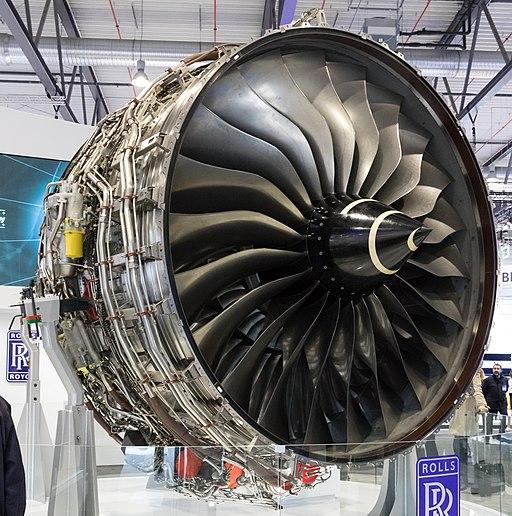 Rolls-Royce Trent XWB Fan, ILA 2018