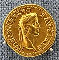 Roma, caligola, aureo, 37-38 dc.JPG