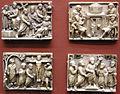 Roma, quattro lati di una scatola con scene della passione di cristo, 420-430 circa.JPG