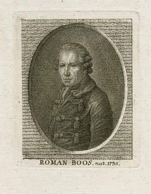 Roman Anton Boos - Roman Anton Boos, from the Bavarian State Library (anonymous, date unknown)