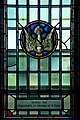 Roman Catholic Chapel, Yeo Hall, Royal Military College of Canada, Marguerite et Edouard de B. Panet dove.jpg