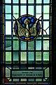 Roman Catholic Chapel, Yeo Hall, Royal Military College of Canada, Marguerite et Edouard de B. Panet dove.jpg