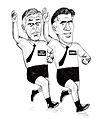 Romney and Not Romney (Mitt Romney and Jon Huntsman).jpg