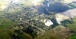 Romsey, Victoria - Image: Romsey aerial 3