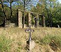 Ropica Górna, cm. wojenny nr 78, mały krzyż austriacki.jpg